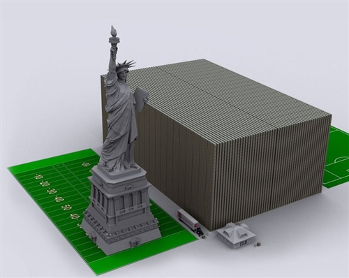graphics of how much 11 trillion dollars is